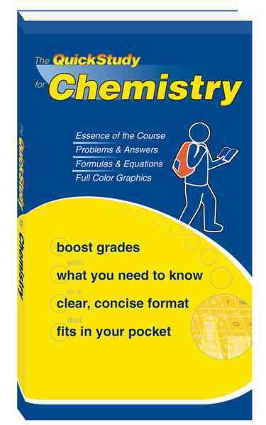 Quick Study for Chemistry By Jackson, Mark D., Ph.D.